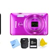 Nikon Coolpix S6900 16MP Digital Camera Bundle