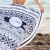 Teami Lifestyle Round Towel and Body Wrap