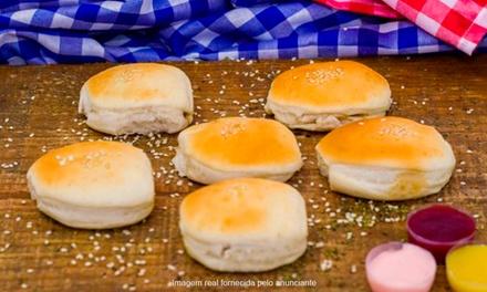 100 ou 200 minissalgados de forno com Ronko das Massas – Maré