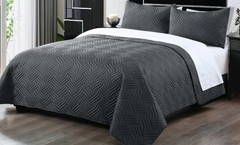 3-Pc Embossed Comforter Set