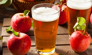 Cider Tasting Tray and 32oz Crowler for Two, Four, or Six at Atlas Cider Company (Up to 51% off)