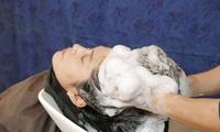 結果重視。徹底的に頭皮ケアを≪高濃度マイクロバブル&炭酸泉ヘッドスパ(約60分)≫男女利用可 @SWEET ROOM