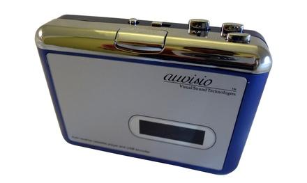 Convertidor de cassettes a mp3 Auvisio Tape2PC