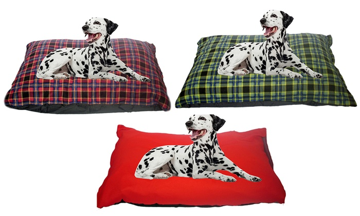 One or Two KosiPet Deep-Filled Dog Cushion Beds From £10.99
