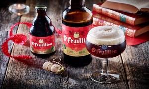 Brasserie St-Feuillien: Visite et dégustation à la brasserie Saint-Feuillien pour 2, 4, 6 ou 10 personnes dès 6,99 € à la Brasserie St-Feuillien