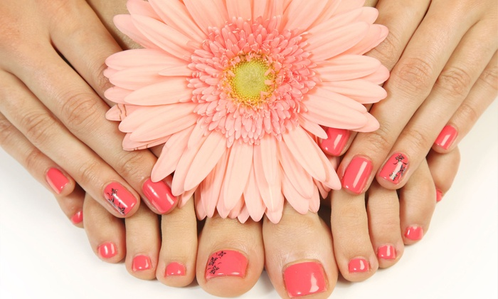 Shay Nailed It - Plantation: No-Chip Manicure and Deluxe Pedicure Package from Shay Nailed It (50% Off)