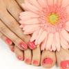 50% Off a No-Chip Manicure and Deluxe Pedicure Package