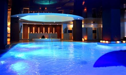 Acceso a spa para 2 con opción a masaje y cena o almuerzo en Diamante Beach & Spa (hasta 48% de descuento)