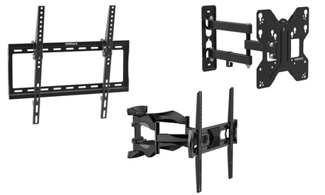 Fixed, Tilt or Full Motion TV Wall Mounts for TVs up to 90 Inches