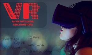 House of VR Polska: Gra w wirtualnej rzeczywistości dla 1 osoby od 22,99 zł i więcej opcji w House of VR Polska (do -39%)