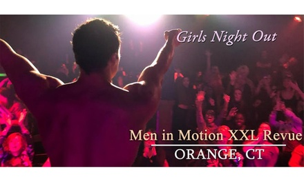 """Magic Male Revue Night"" with Men in Motion Male Revue on April 28 at 7:30 p.m."