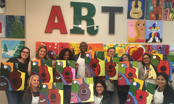 Art & Beyond - Alpharetta: BYOB Paint & Sip Class for One, Two, or Four at Art & Beyond (Up to 51% Off)