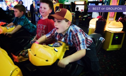 Rides, Games, and Birthday Party at Central Park Fun-land (Up to 57% Off). Two Options Available.