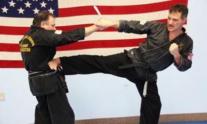 Varasconi School of Self Defense Branch of Hamzy's, LLC.: Martial Arts Memberships at Varasconi School of Self Defense Branch of Hamzy's, LLC (Up to 64% Off) Four Options