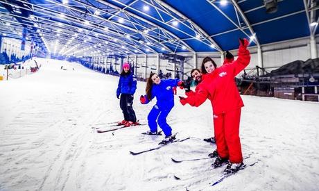 Acceso a pista de nieve cubierta con opción a alquiler de equipo para 1 o 2 personas desde 14,95 € en SnowZone