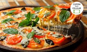 Du'Cheff Pizzaria – Jardim Atlântico: 1 ou 2 pizzas grandes na Du'Cheff Pizzaria – Jardim Atlântico