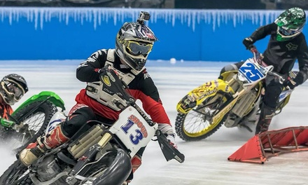 World Championship Ice Racing on Friday, January 25, at 7:30 p.m.