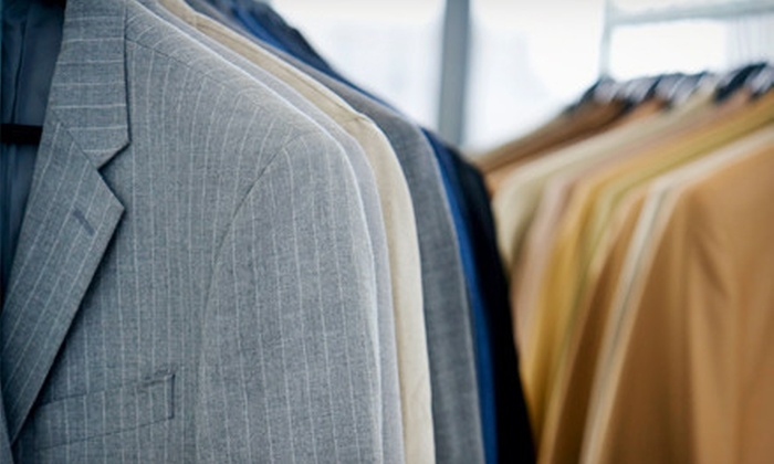 Dry Cleaning Express - Salt Lake City: $15 for $35 Worth of Dry Cleaning and Executive Shirt Laundry Service with Pickup and Delivery from Dry Cleaning Express