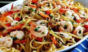 The Pasta Factory Company:  $17 for $30 Worth of Italian Food and Drinks at The Pasta Factory Company