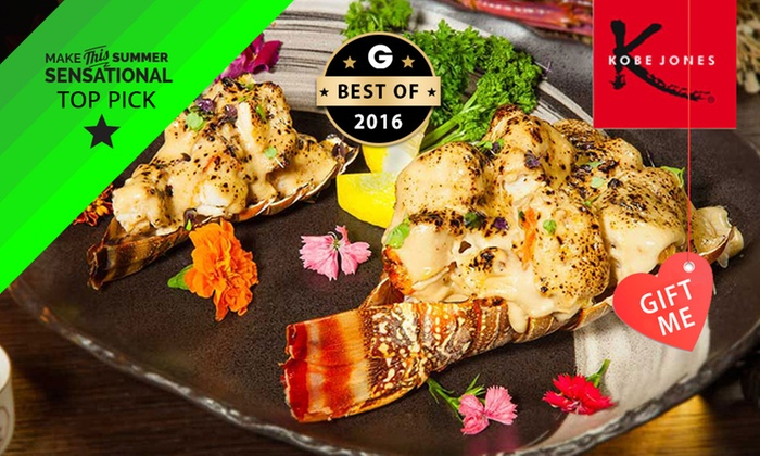Kobe Jones Sydney - Kobe Jones Sydney: $69 for a 12-Course 'Summer of Seafood' Degustation for One at Kobe Jones Sydney (Up to $155 Value)