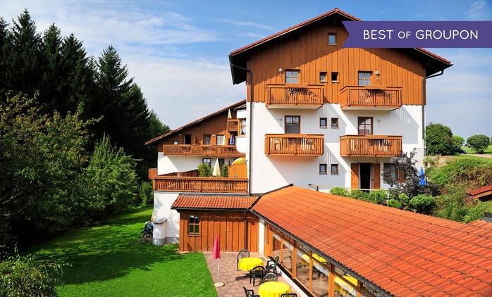 Bayerischer Wald: 3-4 Tage für 2 Personen mit All Inclusive und Wellnessgutschein im Landhotel Margeritenhof
