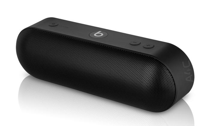 speakers beats. beats by dr. dre pill plus bluetooth speaker (refurbished b-grade): speakers
