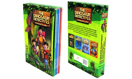 The Dinosaur Detectives FourBook Set for £8.98