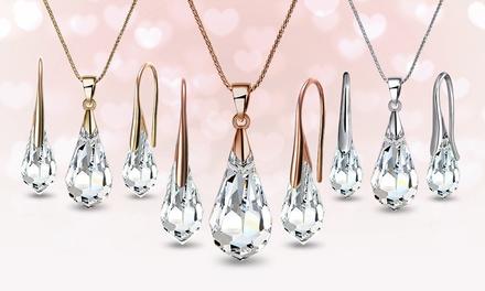 1 paar oorbellen of sieraden versierd met Swarovski kristallen in kleur naar keuze vanaf € 12,99 gratis verzending