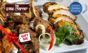 The Snake Charmer: Indian Buffet with Drink for 1 ($29), 2 ($55), 4 ($89) or 6 People ($129) at The Snake Charmer (Up to $234 Value)
