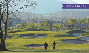 Druids Glen - Non Accomm: 18 Holes of Golf with Trolley Hire, a Basket of Range Balls and Lunch for Two or Four at Druids Heath Golf Course