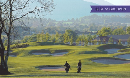 18 Holes of Golf with Trolley Hire, a Basket of Range Balls and Lunch for Two or Four at Druids Heath Golf Course