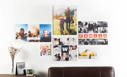 .95 for a Personalised Canvas Air in Choice of Size Don't Pay up to $109
