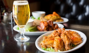 Burgers, Wings, And Beer At Bru
