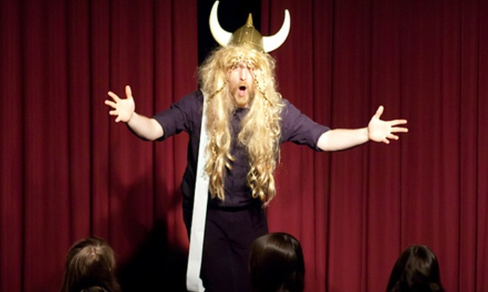 Laugh Out Loud Theater  - Schaumburg: $10 for a Friday or Saturday Improv Show and Popcorn at Laugh Out Loud Theater ($22 Value)