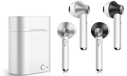 1 ou 2 écouteurs Bluetooth avec étui de charge
