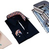 Domani Men's Luxe Reversible-Cuff Dress Shirts