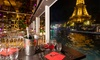 Dîner-croisière sur la Seine pour 2 personnes