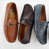 Adolfo Claude Men's Woven Driving Shoes