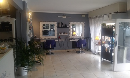 Sesión de peluquería con opción a tinte y mechas en Isabel Recio Estilistas (hasta 83% de descuento)