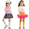 Angelina Girls' Patterned Knee Socks (6-Pack)