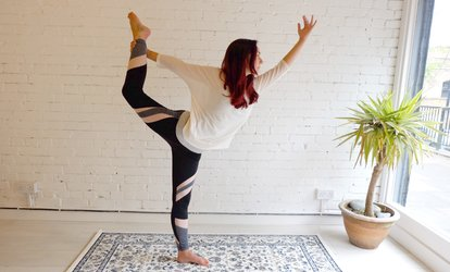 image for Five or Ten Yoga Lessons at For The Core (Up to 64% Off)