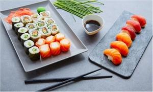 Sushi Licious Waterloo: Een Japanse 2-gangenlunch voor 2 of 4 personen vanaf € 19,99 in het restaurant Sushi Licious in Waterloo