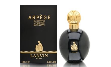 Eau de parfum Lanvin Arpège 100 ml pour femme
