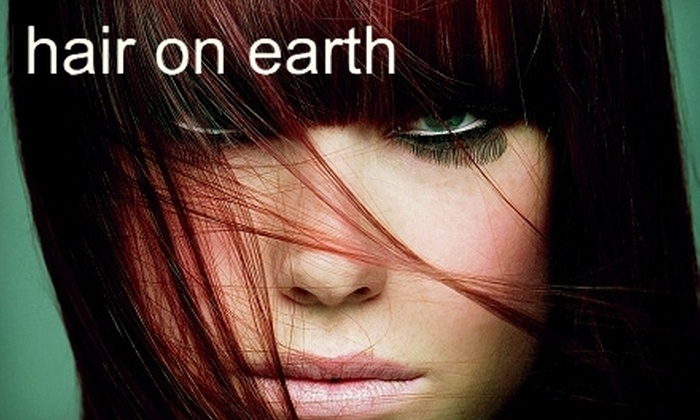 Hair On Earth - Tallahassee: $99 for Simply Smooth Keratin Treatment ($200 Value) or $35 for Conditioning Hair Treatment, Haircut, and Style (Up to $70 Value) at Hair on Earth