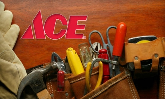 Ace Hardware of Statesville - Statesville: $10 for $20 Worth of Home-Improvement Supplies and Services at Ace Hardware of Statesville