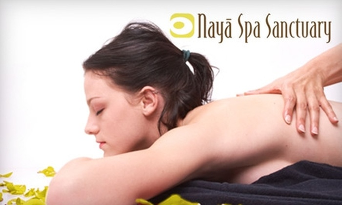 Naya Spa Sanctuary - Deer Park: $49 for Any 80-Minute Massage or One Medical-Grade Facial Peel at Naya Spa Sanctuary