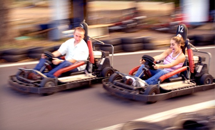 2 Extreme-Fun Passes for Patrons Shorter Than 56 Inches (up to a $44 value) - Funworks! in Modesto