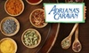 Adriana's Caravan - CLOSED: $10 for $20 Worth of Unique Spices, Herbs, and Condiments at Adriana's Caravan
