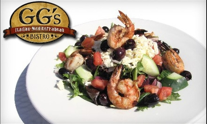 GG's Bistro - Laguna Beach: $20 for $40 Worth of European Fare and Drinks at GG's Bistro in Laguna Beach