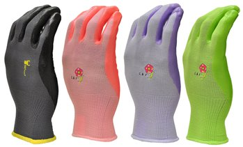 Men's or Women's Nitrile - Coated Garden Gloves (6-pack)